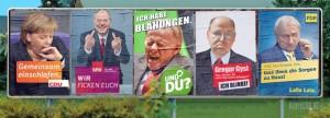 Wahlplakat Loriot