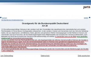 gg artikel 28